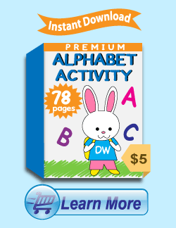 Premium Alphabet Activity Worksheets Package