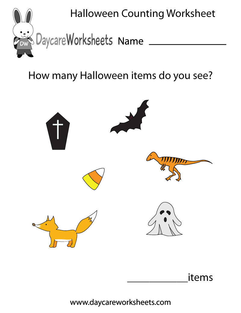 Preschool Holiday Worksheets