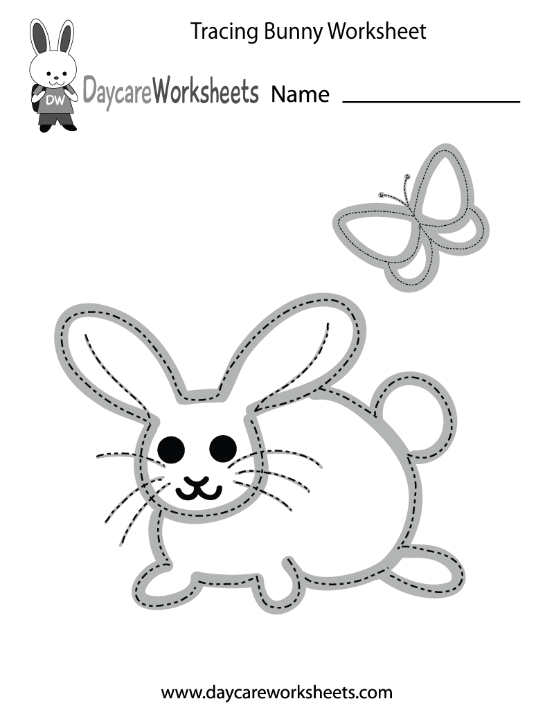 Preschool Tracing Worksheets – Trace Name Worksheets