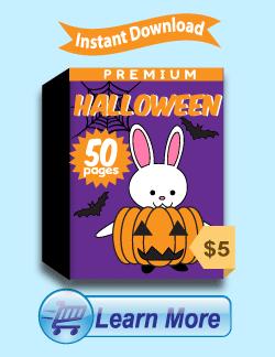 Premium Halloween Worksheets Package