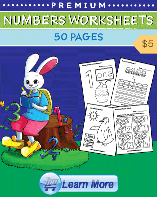 Numbers Worksheets Cover