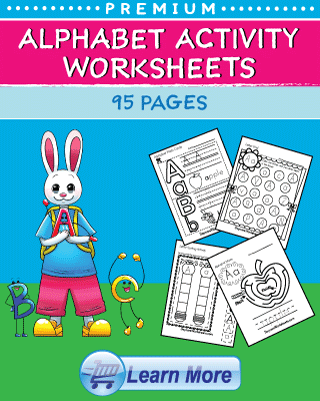 Premium Alphabet Activity Worksheets
