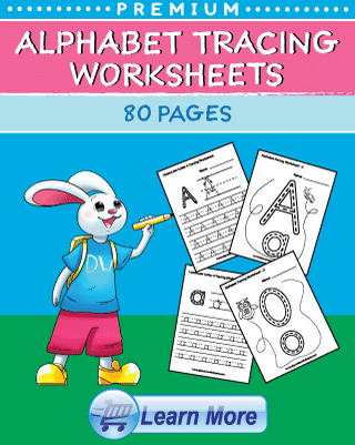 Premium Alphabet Tracing Worksheets