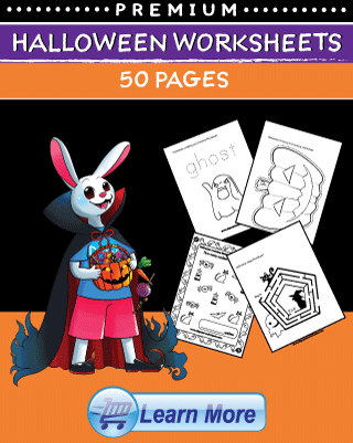 Premium Halloween Worksheets