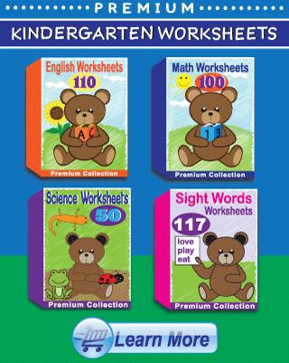 Premium Kindergarten Worksheets