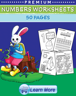 Premium Numbers Worksheets